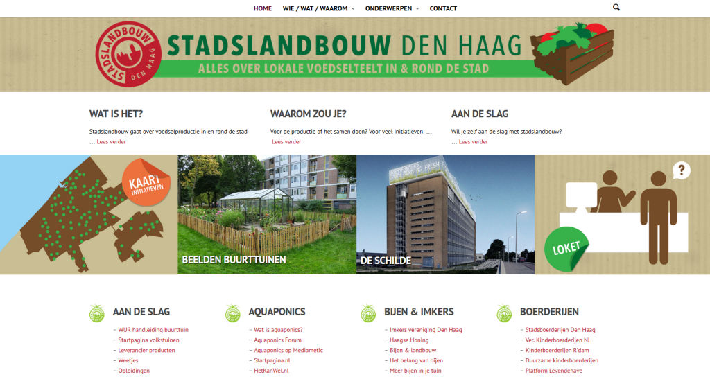 Stadslandbouw Den Haag